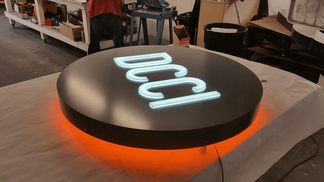Illuminated electrical sign fabrication