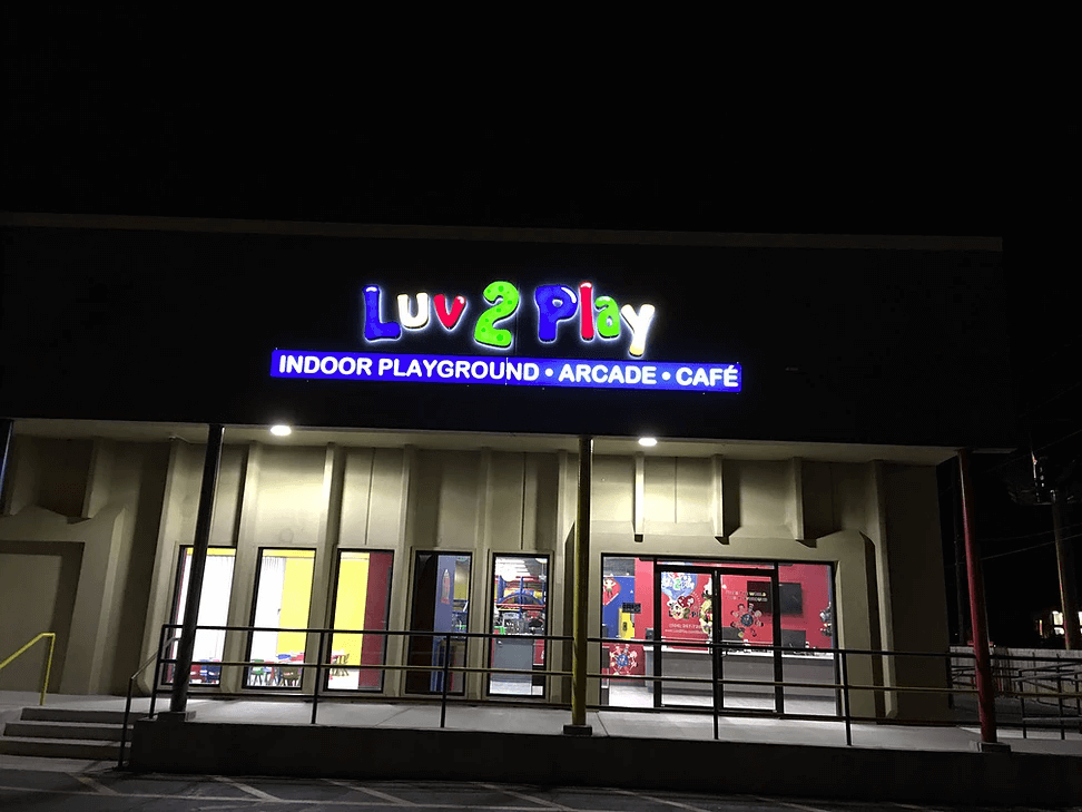 Exterior Signs- Kids Indoor Playground