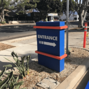 custom wayfinding signs by Signergy